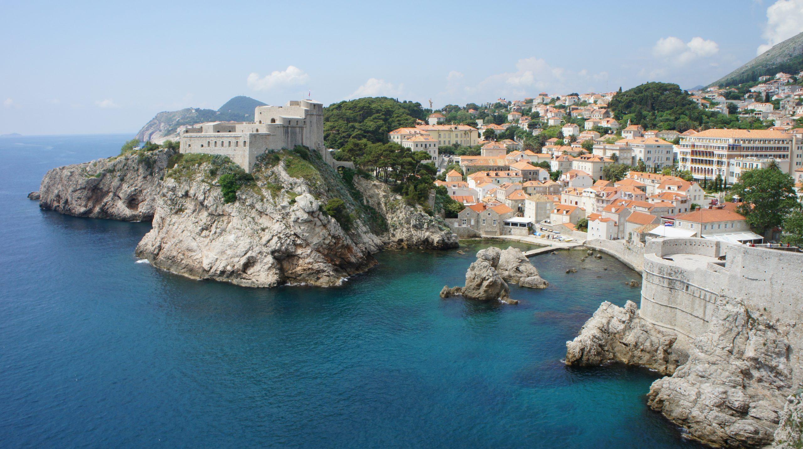 At Dubrovnik, Croatia in 2011